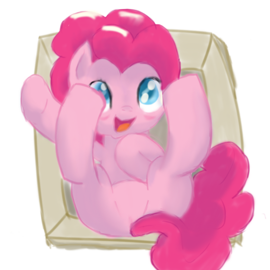 Pinkie's Care Package by kittyhawk-contrail