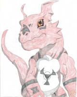 Guilmon by Dark-DuelMaster17