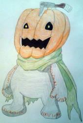 Pumpkinmon by Dark-DuelMaster17