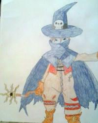 Wizardmon by Dark-DuelMaster17