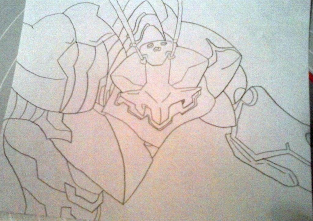 Mantonoid W.I.P. by Dark-DuelMaster17