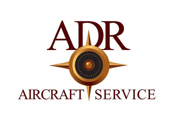 ADR AIRCRAFT SERVICE logo by irk