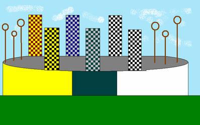 Quidditch Pitch by littlemermaid2787
