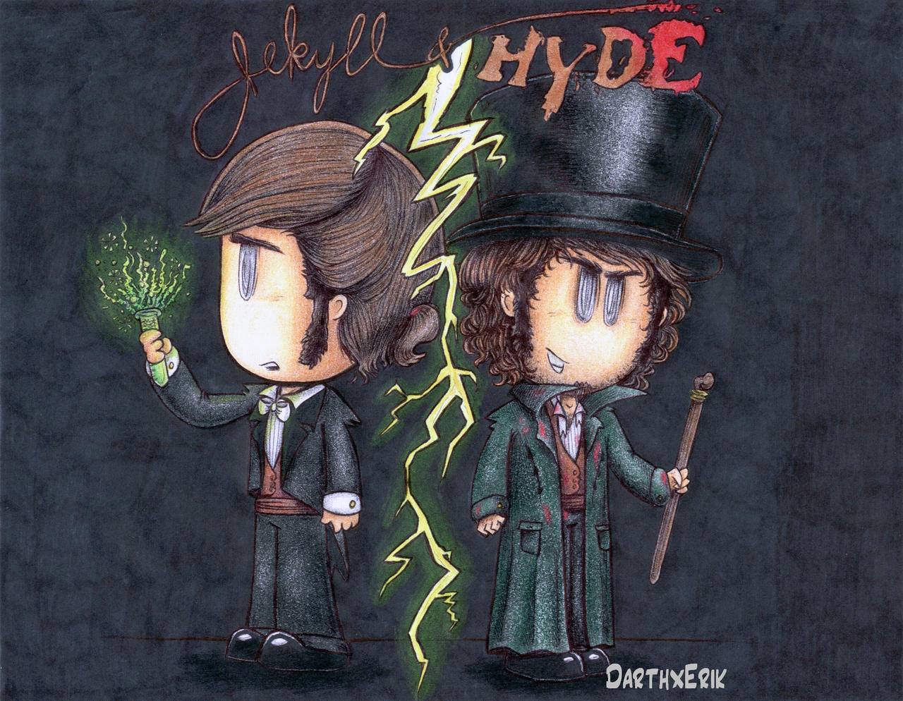 Jekyll and Hyde Logo  Dr Jekyll and Mr Hyde Poster