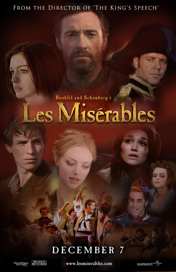 Les Mis Fan Movie Poster by DarthxErik
