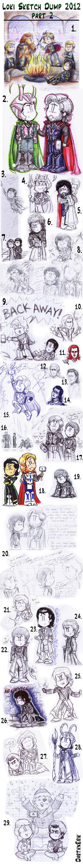 Loki Sketch Dump 2012 part 2