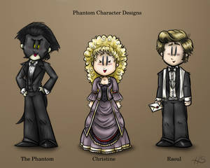 Phantom Character Designs, Updated Version