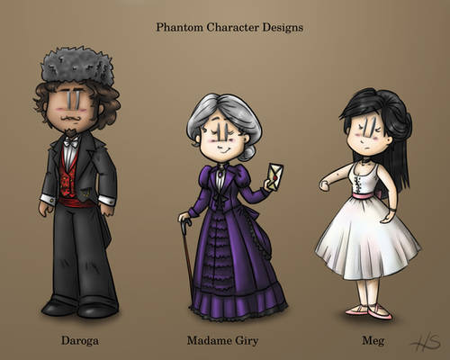 Phantom Character Designs Part 2