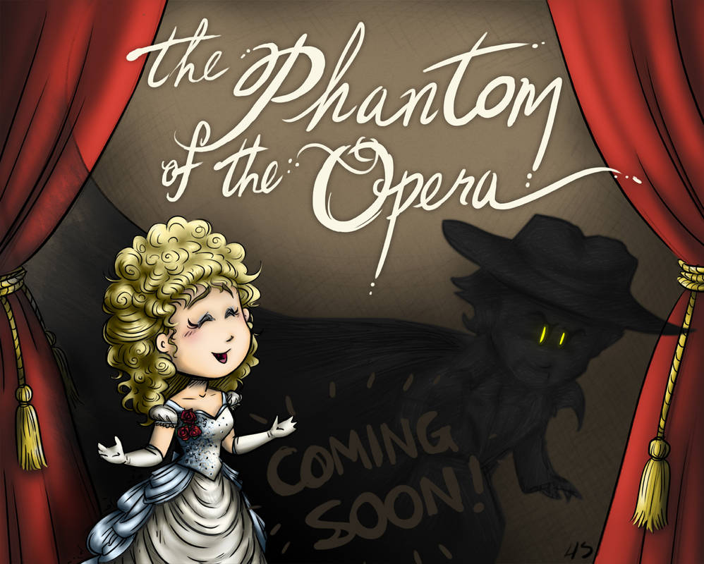 Phantom of the Opera Book - Coming Soon!