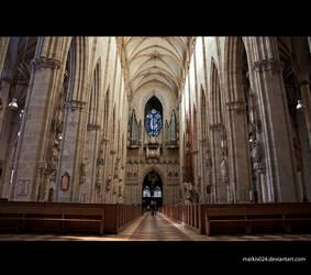 Ulm Minster-interior by markis024