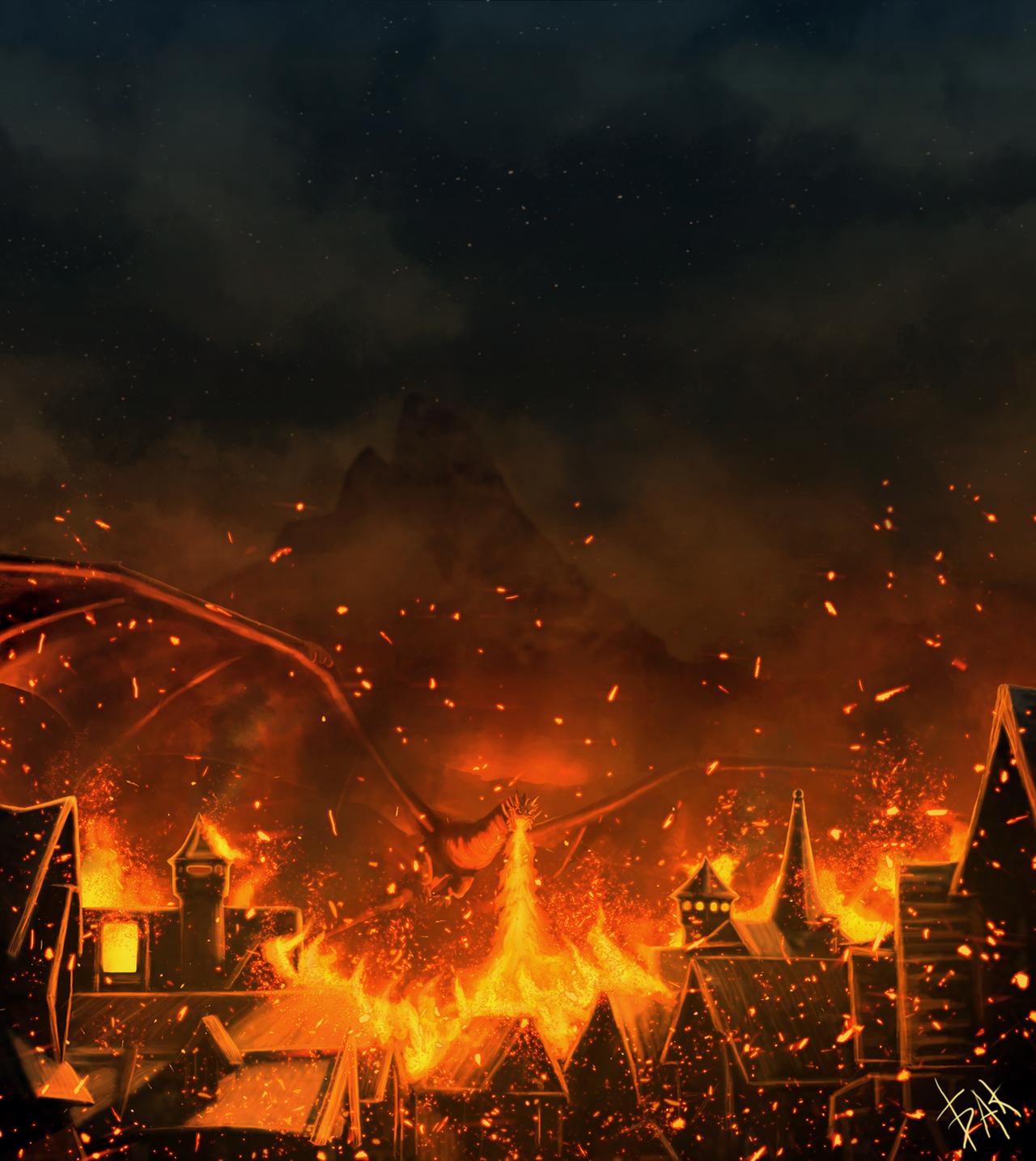 I am fire! I am... DEATH! by AlyxSP