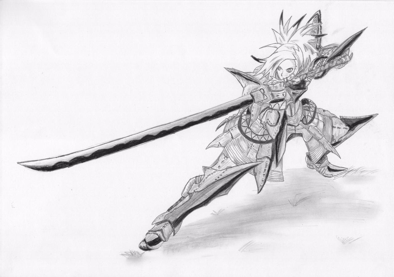 Anime Sword Drawings Anime Sword Drawing Sword