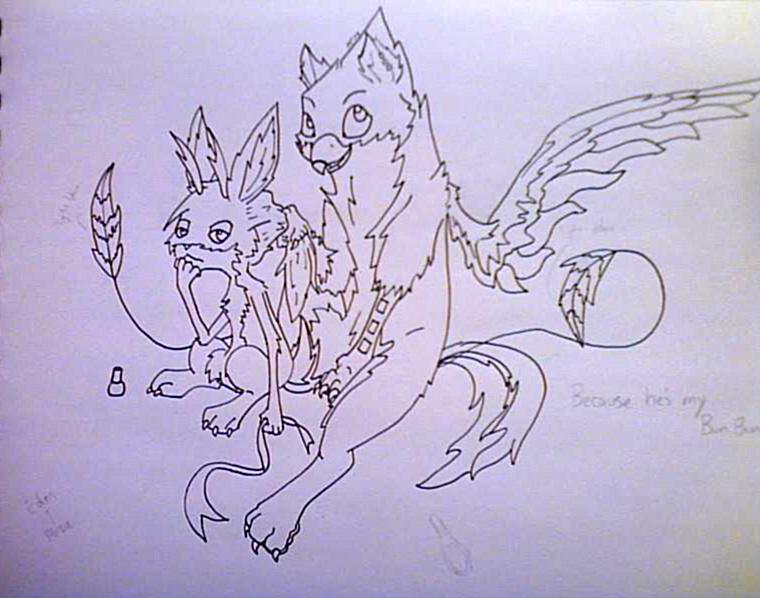 Eden and Mizu by Vanilla105