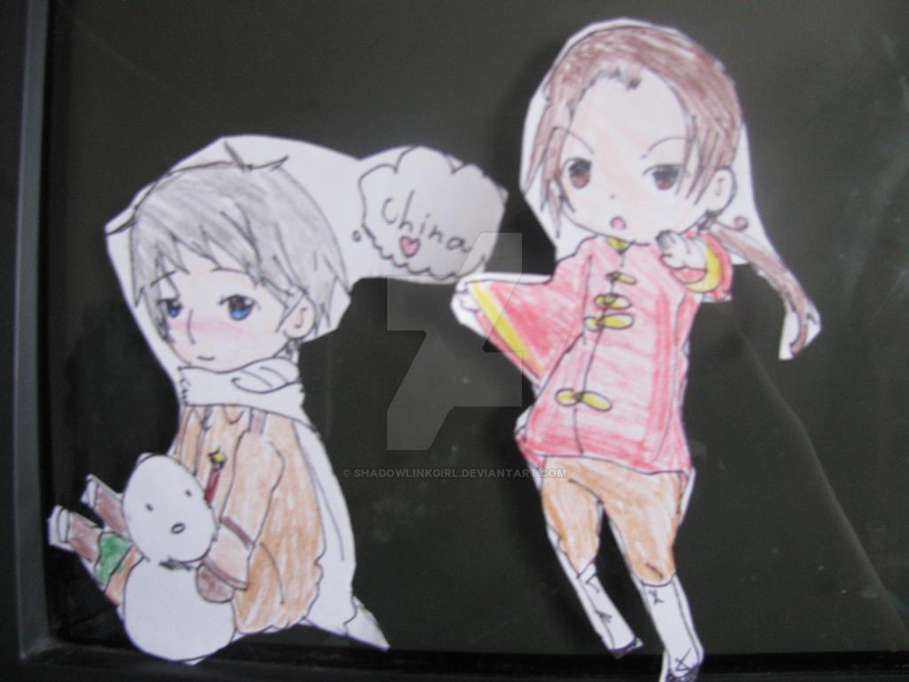 Rochu paper child by shadowlinkgirl