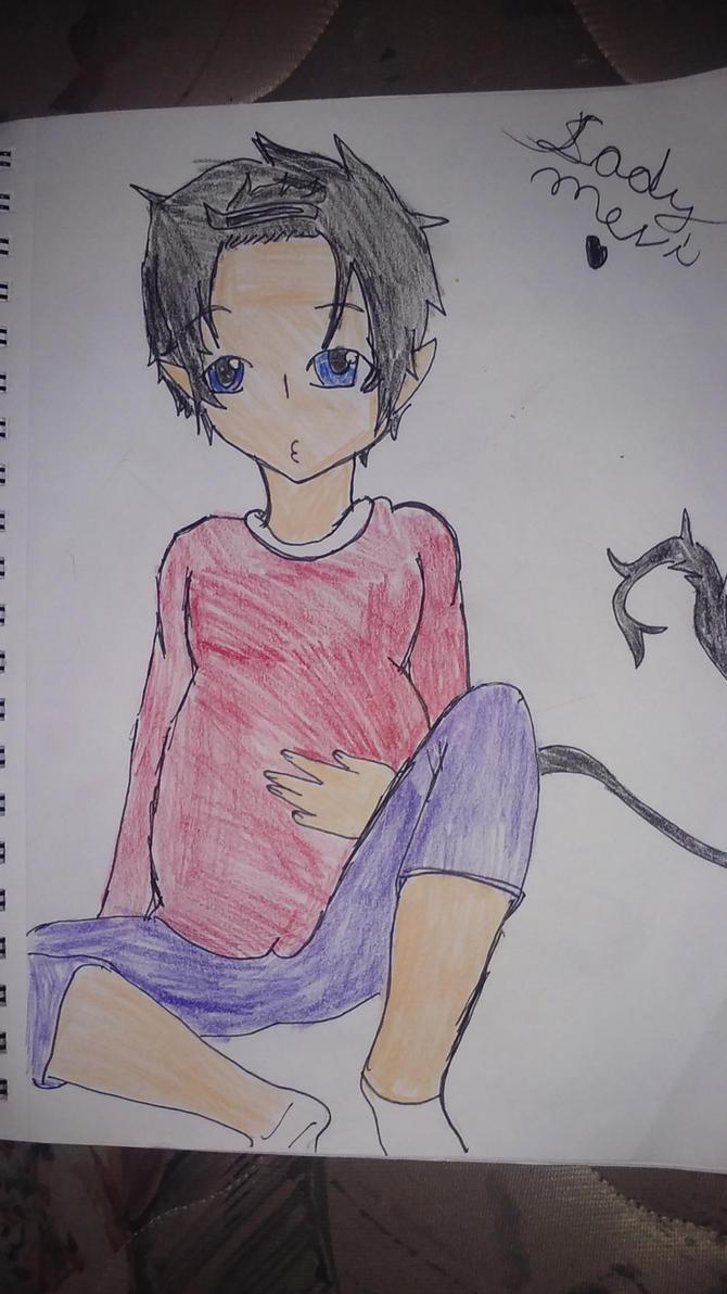 Mpreg Rin Okumura by shadowlinkgirl