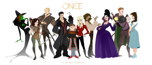 ONCE UPON A TIME by Stetsubi-111