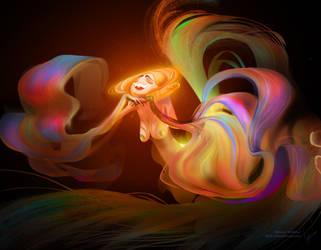rainbow Mermaid by Stetsubi-111