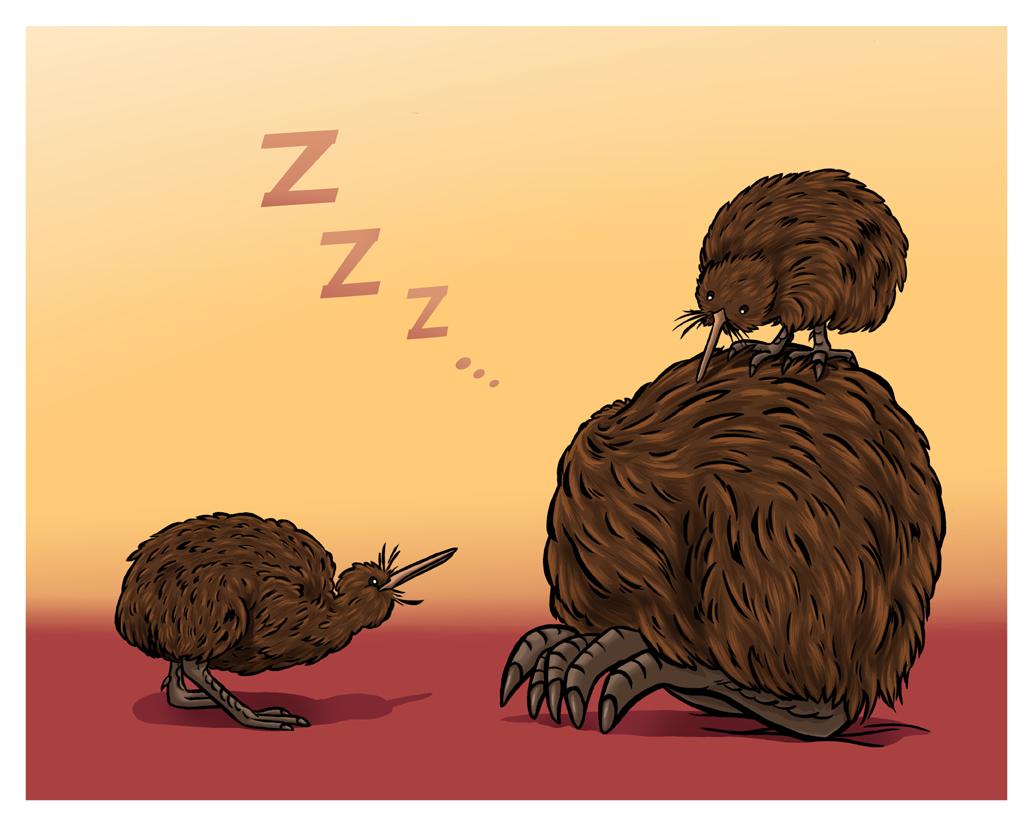 Wake up, Dad! by Ofelan