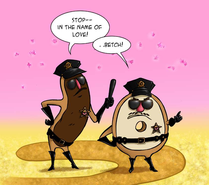 Donut Cops by Ofelan