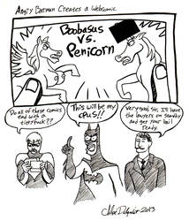 Angry Batman 23 by Ofelan