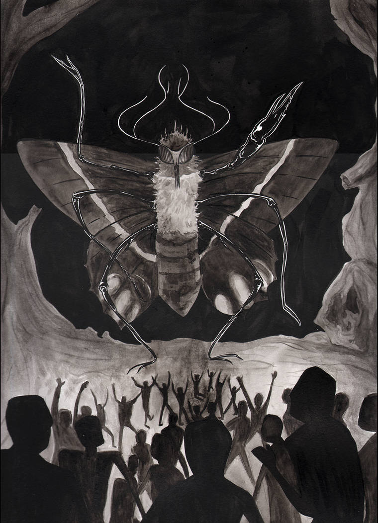 The Moth Queen by Ofelan