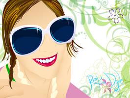 Devon's shiny sunglasses by ivorydealer