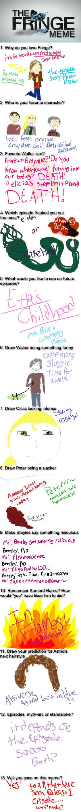 The Fringe Meme by Mikkiizawierdo