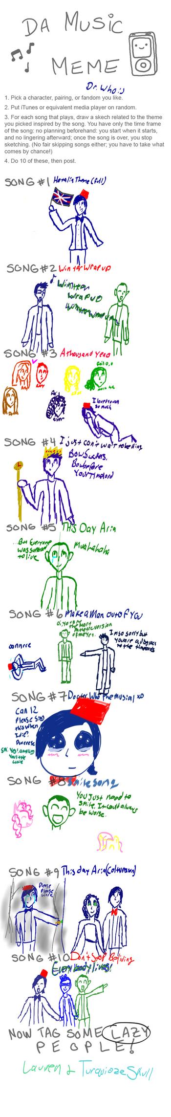 Music Meme by Mikkiizawierdo