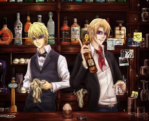 Your Favourite Bartenders by Shuukaku92