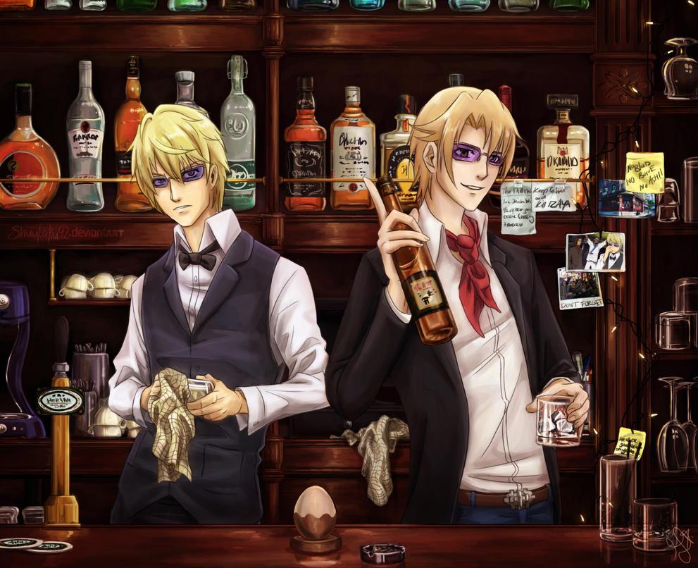your favourite bartenders by shuukaku92 on deviantart