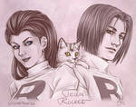 Anime Portrait: Team Rocket