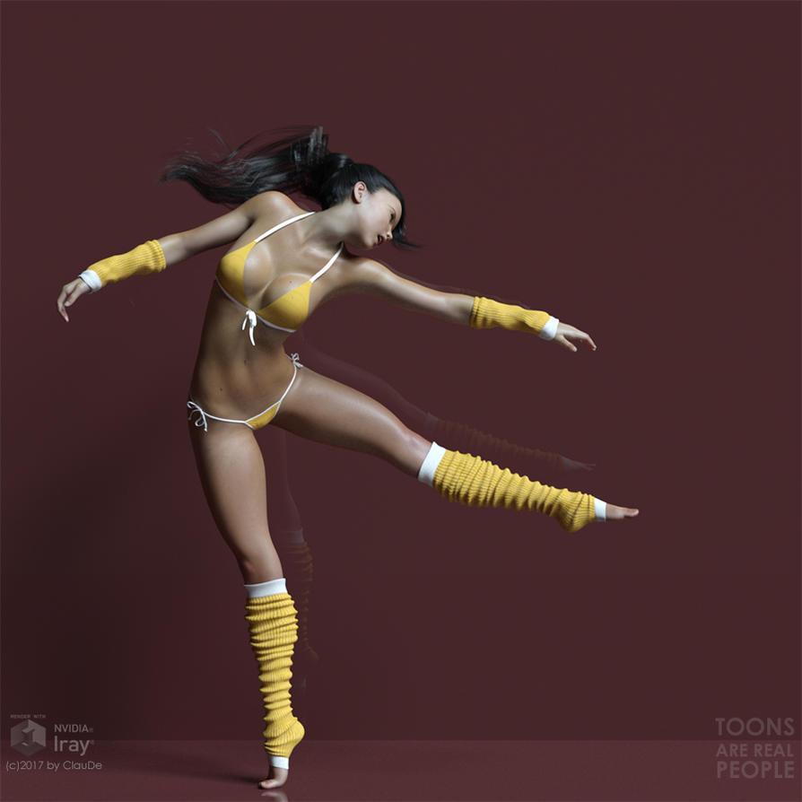 Lea #04 - Dance by destri