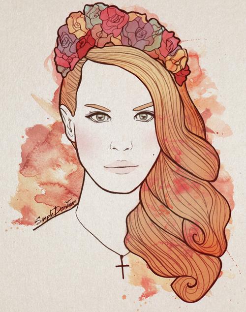 Lana Del Rey by simpledonjuan