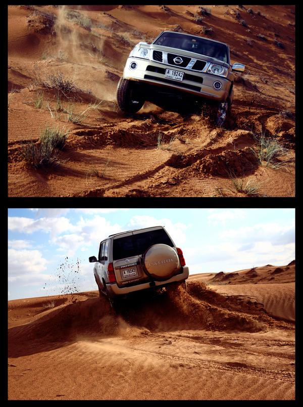 Desert 1 - Nissan Patrol by weird-abdulla