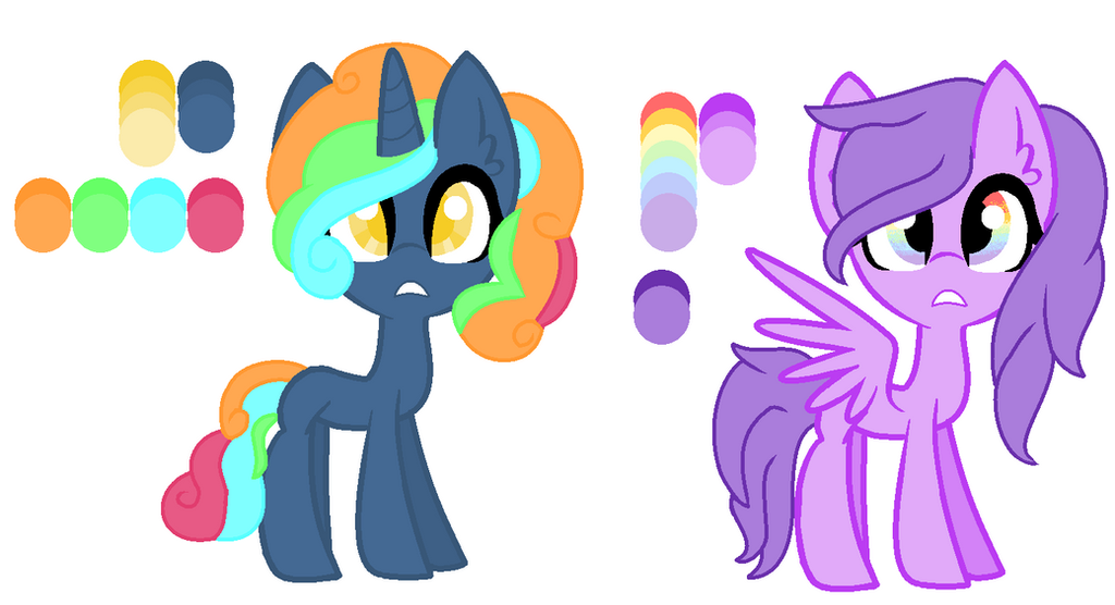 Neon Rainbow And Pastel Skittles By Joystick12