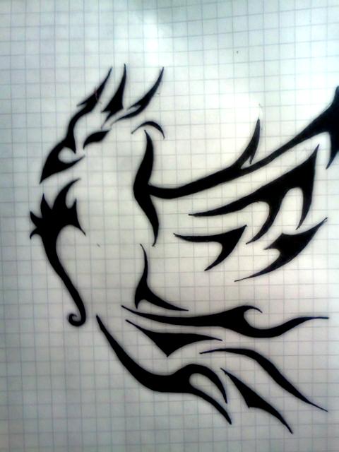 Phoenix Tribal by Ashendail