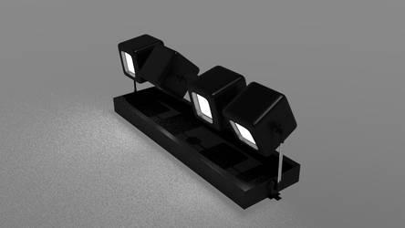 Cubic Desk Lights (bright version)