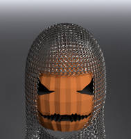 Jack O' Lantern in Armor