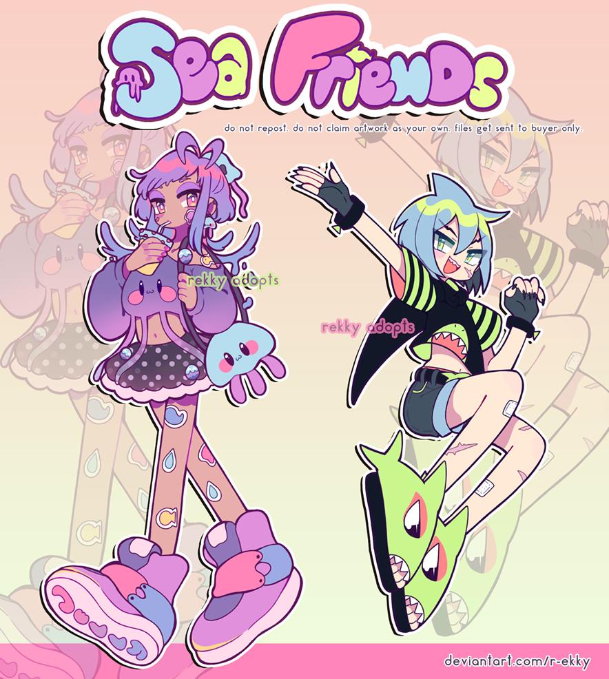 [2020] SEA FRIENDS OTA 01 || CLOSED