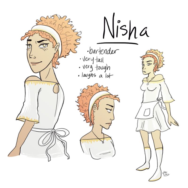 Nisha-Serpents of Old