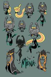 Midna Sketches