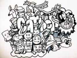 Catherine(doodled) by AlexZand3r