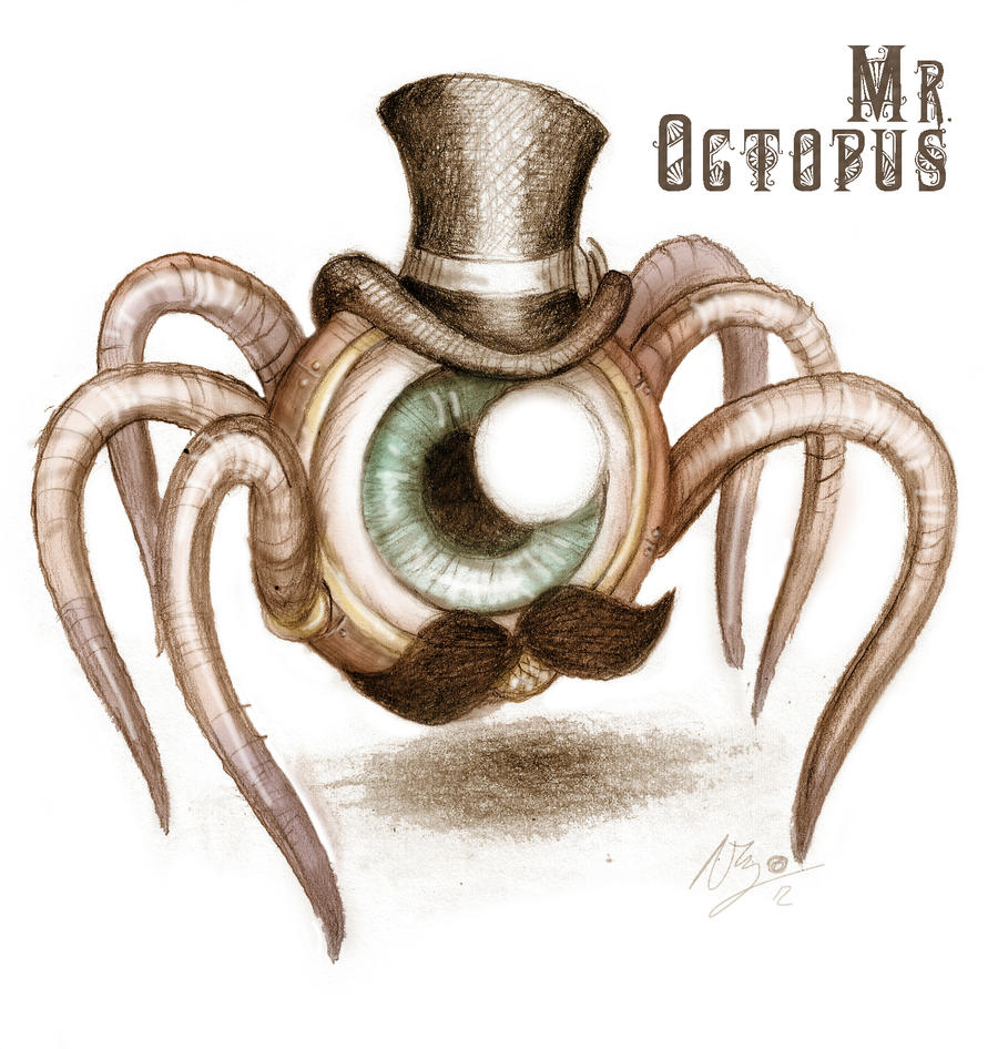 Mr. Octopus by duVallonFecit