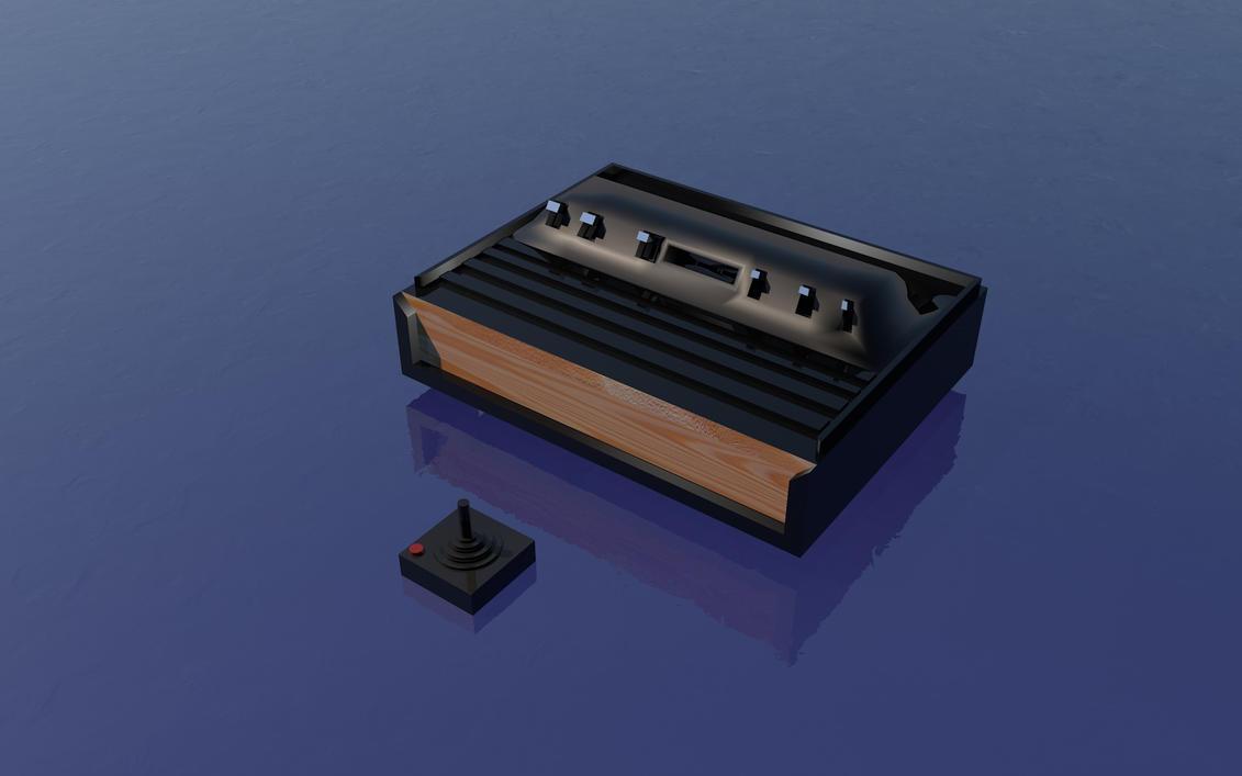 Atari 2600 by BadCrank