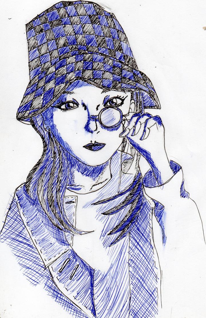 Sandara Park pen style by BadCrank