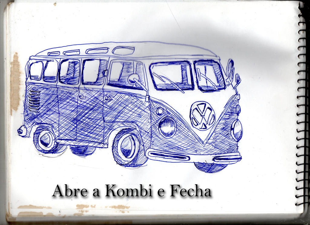 Open Bus and Close (Abre a Kombi e Fecha) by BadCrank