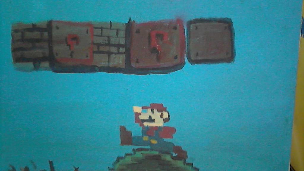 Mario Pixelism by BadCrank