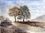 watercolor lanscape 2