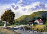 watercolor landscape 4