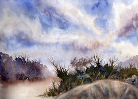 waterolor landscape 5 by Just-a-Witness